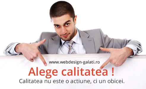 Calitate Open Web Design Galati