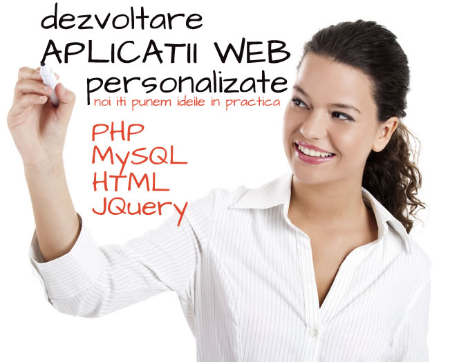 Dezvoltare aplicatii web la comanda