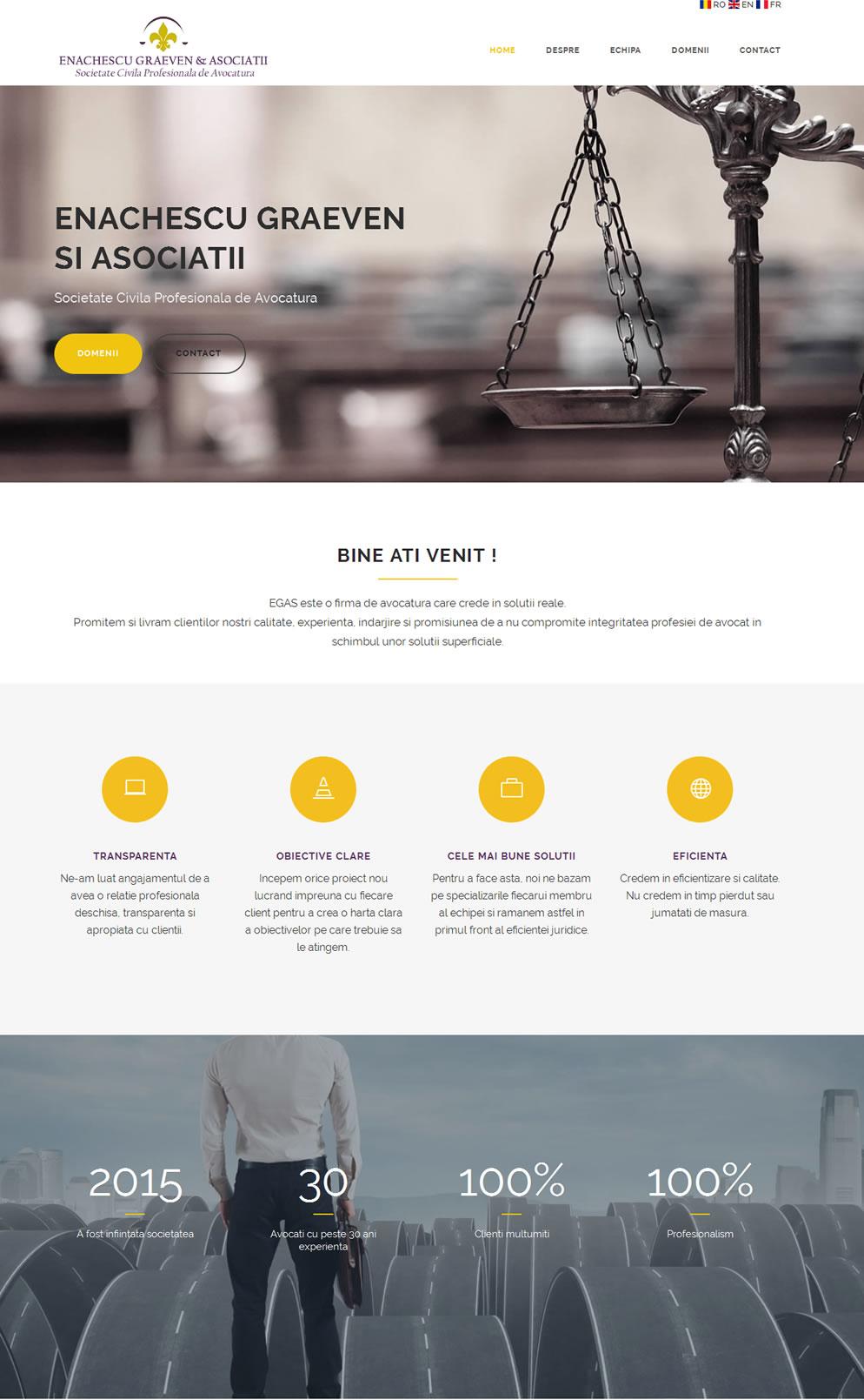 Homepage Egas Law