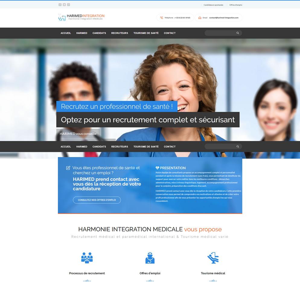 Homepage www.harimed-integration.com
