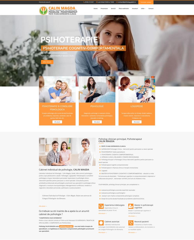 Homepage psiholog-galati.ro